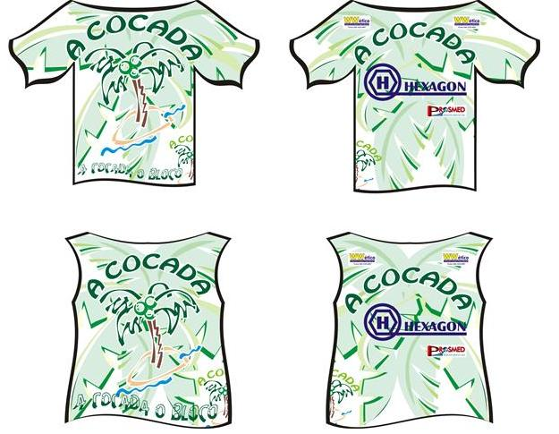 Camisa do Bloco A COCADA