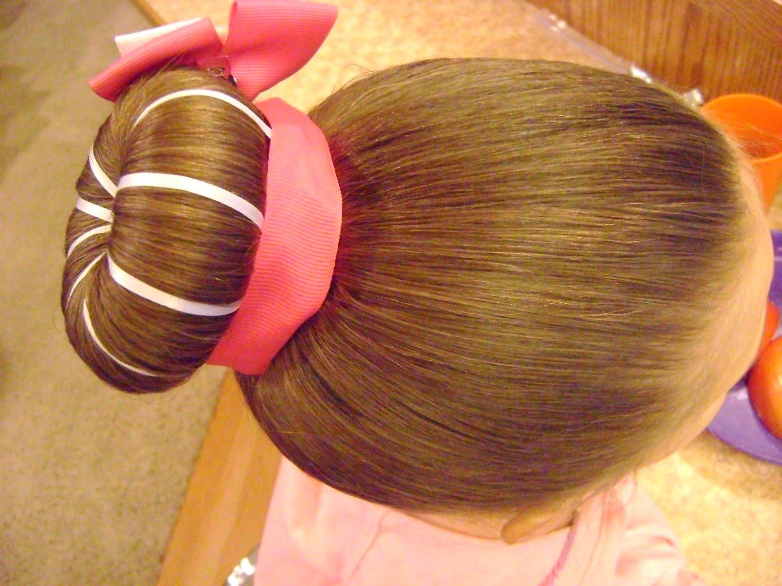 Красивая прическа на длиные волосы