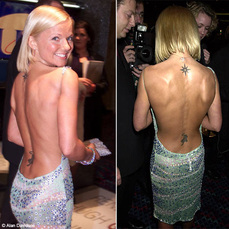 Lower Back Tattoo still continued to dominate the women's favorite tattoo in