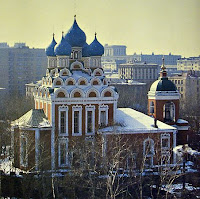Храм Тихвинской иконы Божьей матери(Москва)