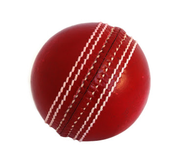 how to make a cricket ball on a string
