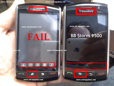 Pras Blackberry Storm Estos Eltraqueteo