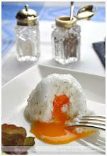 espuma de huevo