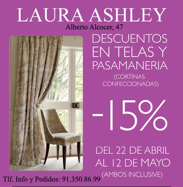 Superfluo imprescindible si necesitas telas p sate por - Telas laura ashley ...