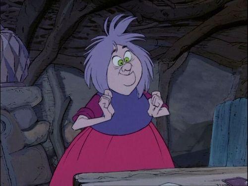 Merlin disney witch - photo#1