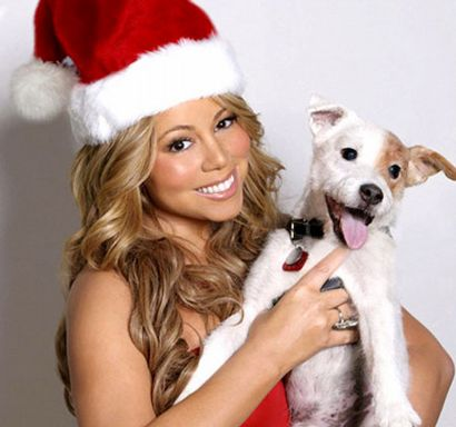 Mariah Carey Christmas layout?