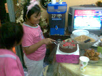 Birthday Afreena 9 tahun 2008