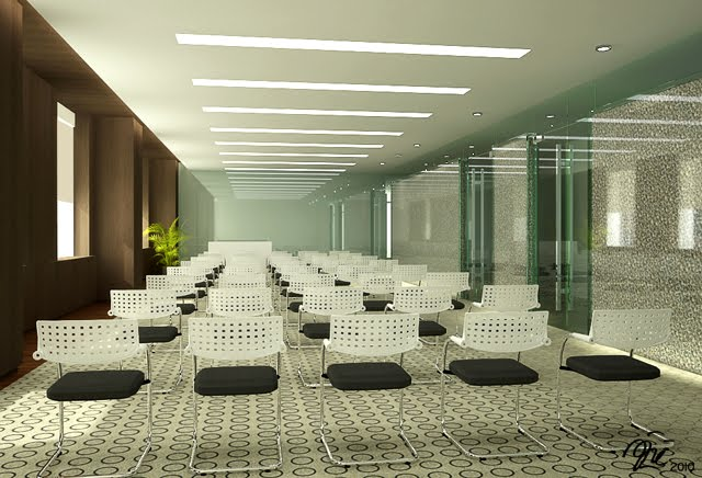 Training Room Architecture Interior Exhibition And Event Design By Fanny Aji Wibowo St
