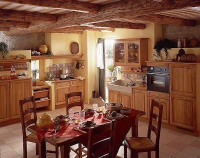 Italian Country Kitchen Decor