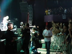 aonde ele estava ( backstage )