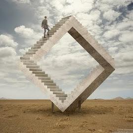 hay que aprender a buscar las otras escaleras