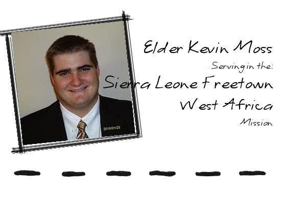 Elder Kevin Moss