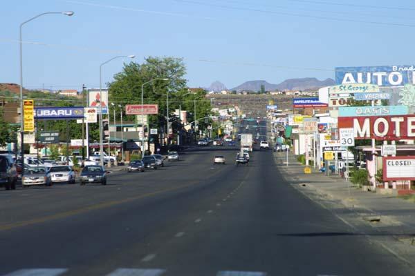 Downtown St. George, Utah