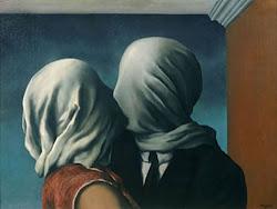 Los amantes. René Magritte.