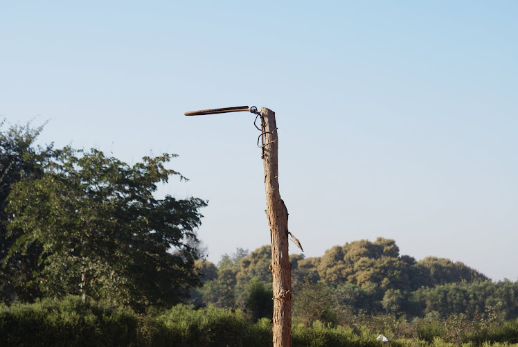 Zambian Basketball Hoop