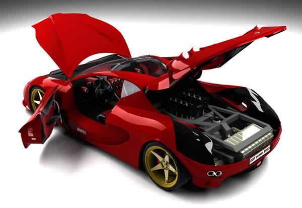 Ferrari Car Prize - Auto Express