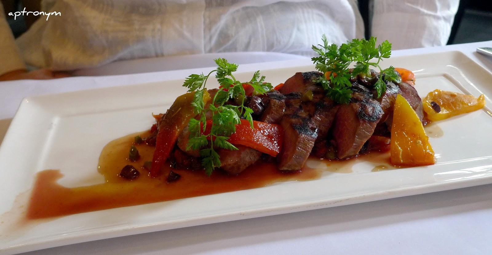 The sydney tarts verandah restaurant for Lamb jus