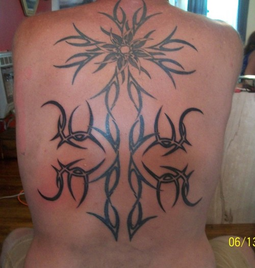 cross tattoos for men on back. Cross Tattoos For Men Back.