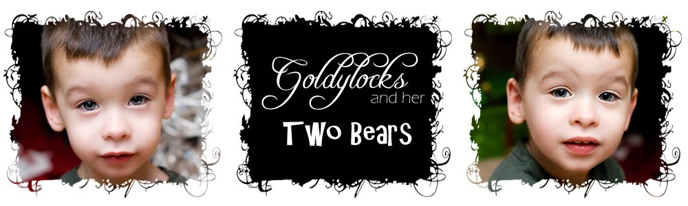 Goldylocks &amp; Her Two Bears