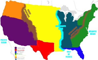 Mr Rachlins Class Barbara Padilla History Map Of Us - Map of us in 1776