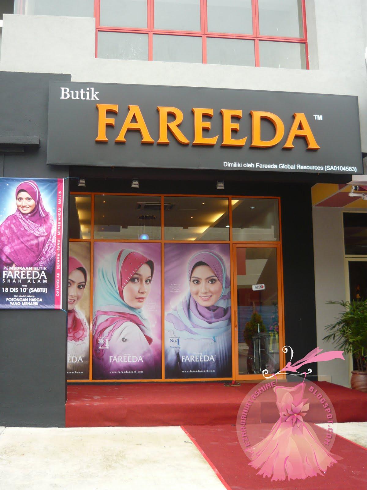 Butik Fareeda di Sekyen 7 Shah Alam