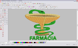 Bordado de Uniforme de Farmácia - Download