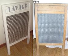 Tvättbräda - Lavage