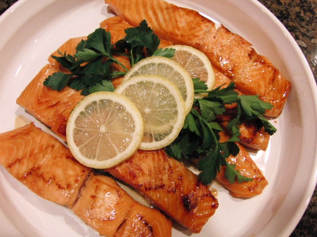 Dinners for a Year and Beyond: Sweet Lemon and Soy Glazed Salmon