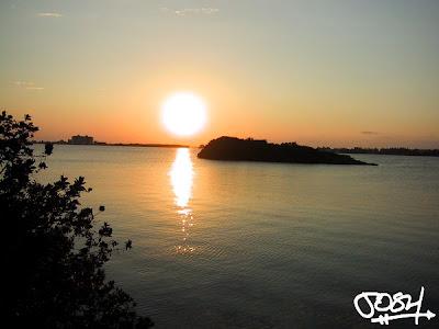 Sunrise in Cancun, Mexico