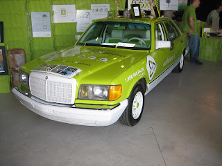 Pimp My Ride/rentagreenbox.com biodiesel Mercedes Benz... fastest in the world!