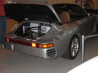 EV all-electric Porsche 911