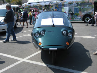 San Diego Earth Day 2008 at Balboa Park - German-built Twike vehicle