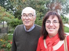 Pai e Filha em passeio na vila de Resende