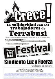festival en apoyo en mar del plata