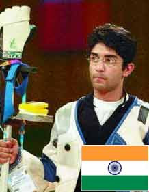 India's Bindra wins men's 10m Air Pistol