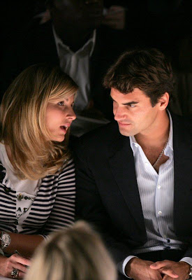 roger federer girlfriend 2009