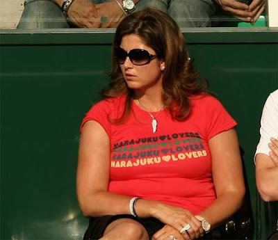Mirka Vavrinec fat ugly girlfriend Roger Federer