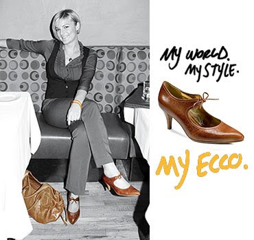 ecco shoe advertising slogan and punchline: One of the premier shoe  brand in the world