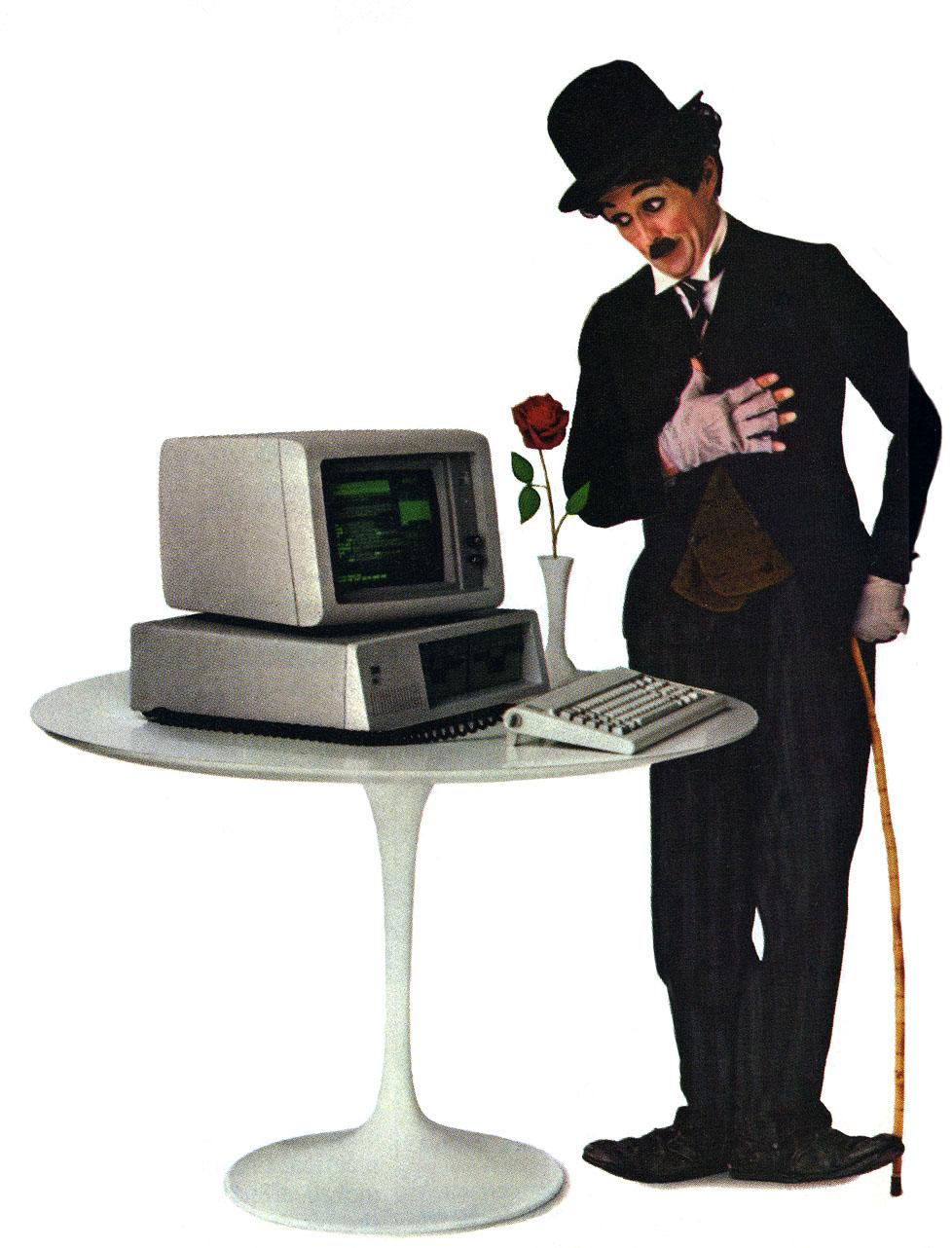 Charlie-chaplin-IBMjr-personal-computer-ad