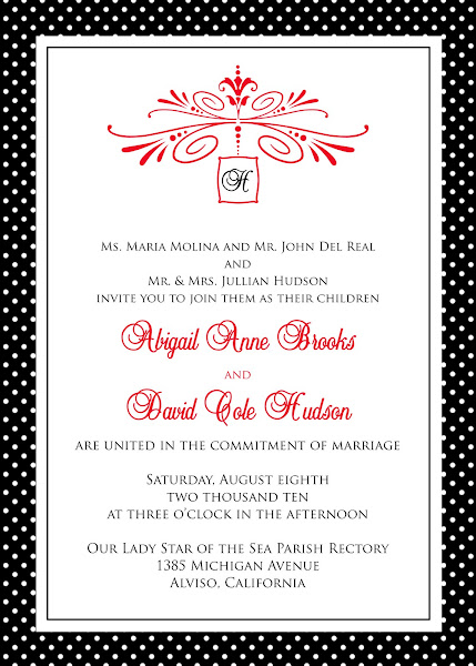 The Cotton Club Wedding Invitation