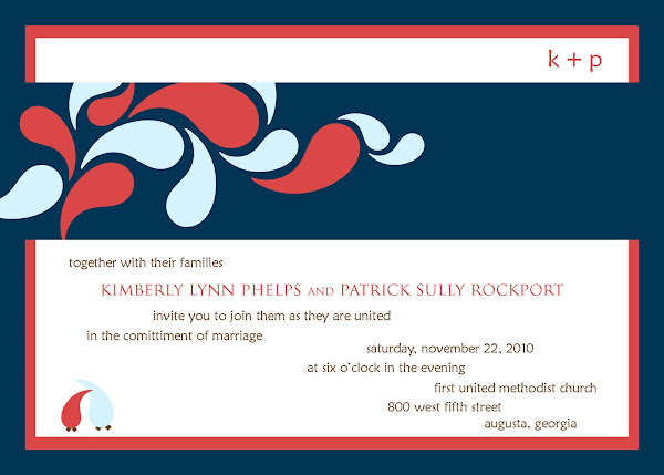 Partridge Spring Wedding Invitation