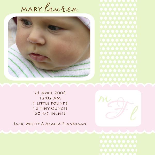 Mary Lauren