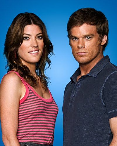 are dexter and deb dating in real life