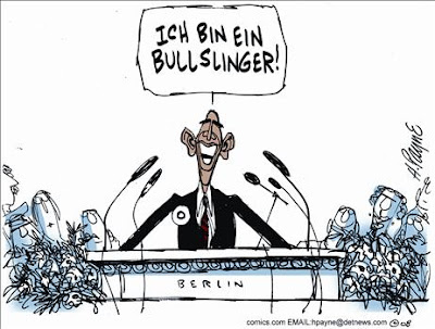 Obama the Bullslinger