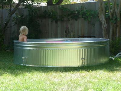 Modern Blossom Stock Tank Pool