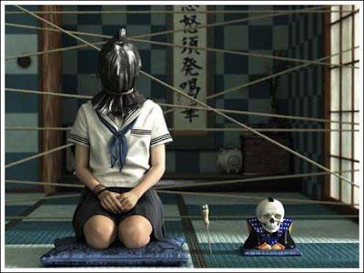 Gambar 3d Unik Horor Gadis Sekolahan Jepang [ www.BlogApaAja.com ]