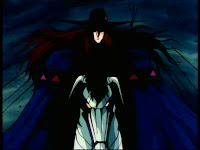 D on his cyborg horse
