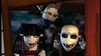 the vampires arrive...
