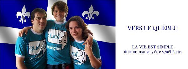 Vers le Québec