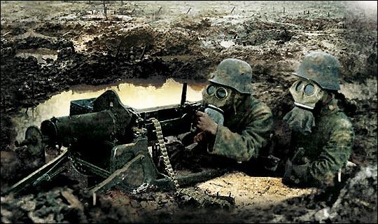 german machine gun ww1